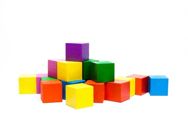 Gekleurde kinderblokjes