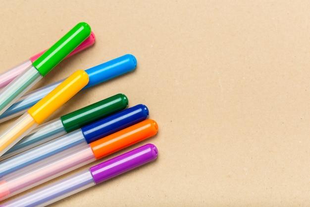 Gekleurde markeerstiften