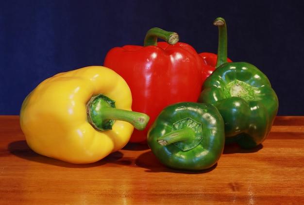 Gekleurde peper