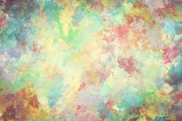 Gekleurde textuur vlek