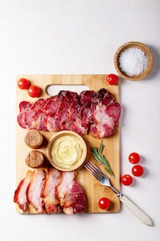 Gekookt varkensvlees