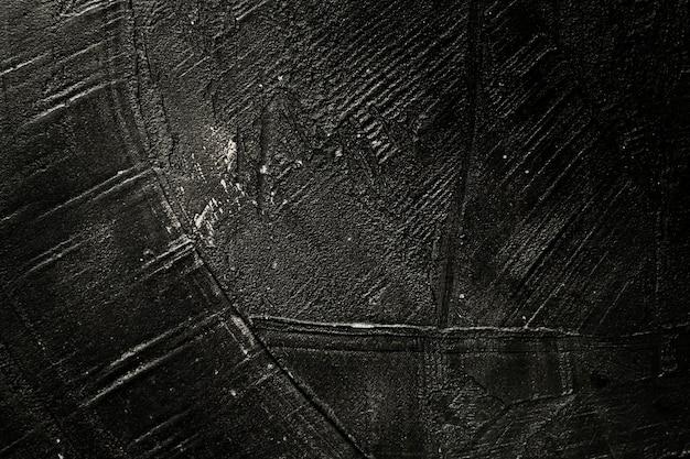 Gekraste zwarte verf van houten textuur