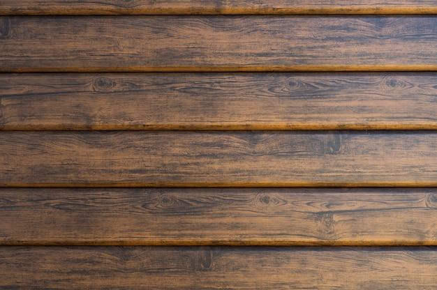 Gelakt hout donkere achtergrond met verloop