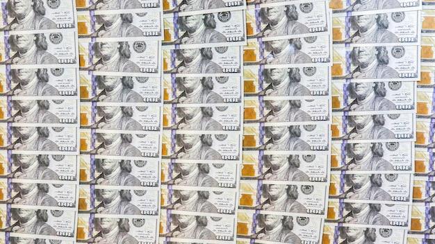 Geld achtergrond. dollar bankbiljetten.