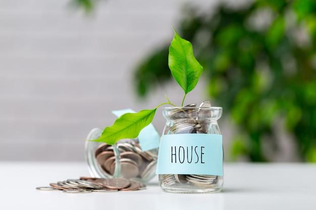 Geld besparen in de glazen pot