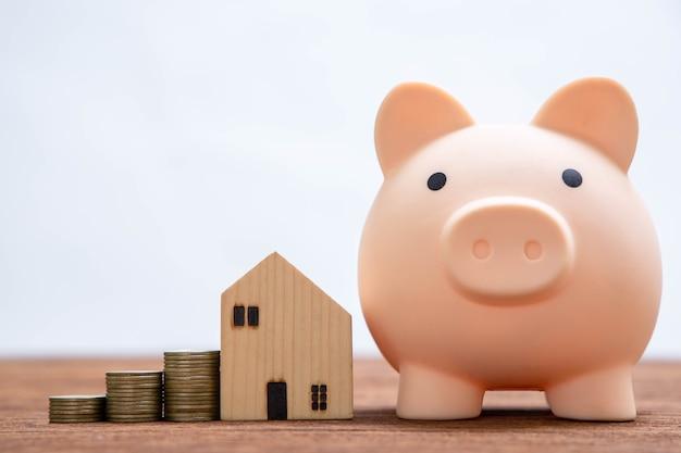 Geld besparen om te gebruiken voor verdere investeringen in het bedrijf.