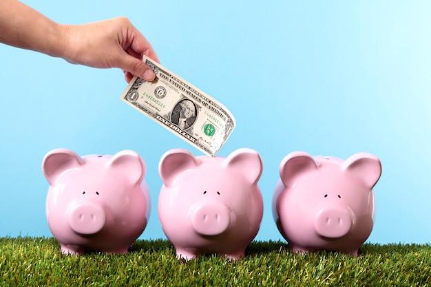 Geld besparen op de spaarpot