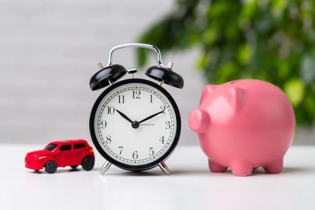 Geld besparen voor auto