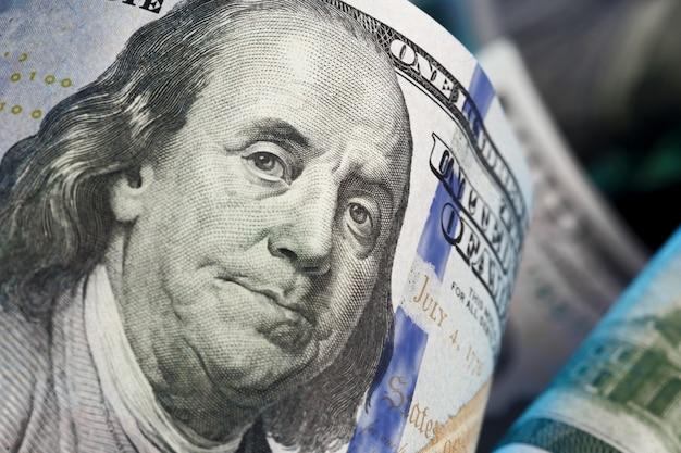 Geld close-up