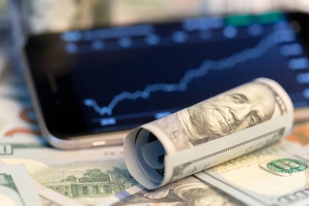 Geld en grafiek