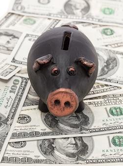 Geld en spaarvarken