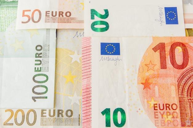 Geld eurobankbiljetten.