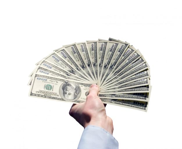 Geld in de hand