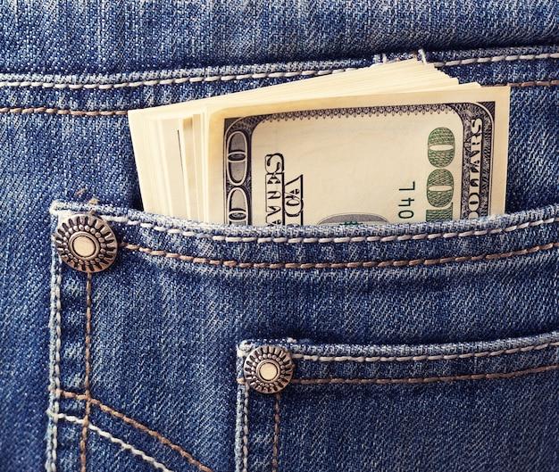 Geld in de zak