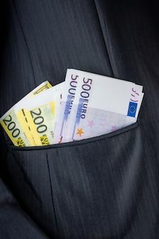 Geld in je zak
