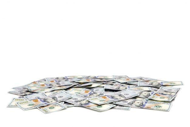 Geld op wit