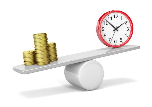 Geld tijdsaldo