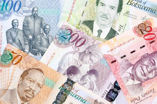 Geld uit botswana
