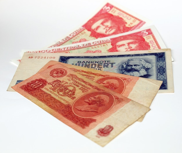 Geld uit communistische landen
