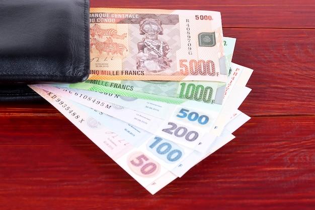 Geld uit congo in de zwarte portefeuille