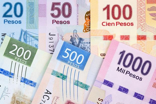 Geld uit mexico een zakelijk oppervlak