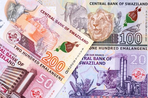 Geld uit swaziland, een zakelijke achtergrond
