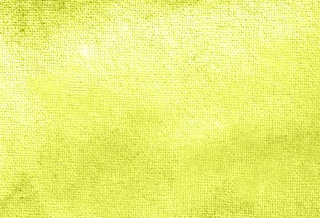 Gele abstracte pastel aquarel handgeschilderde achtergrondstructuur.