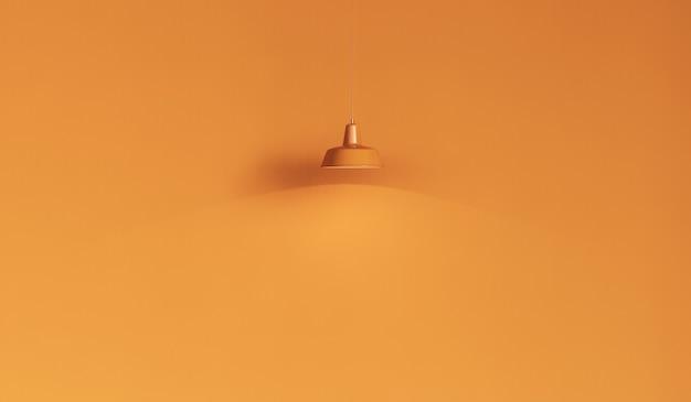Gele achtergrond met gele lichten