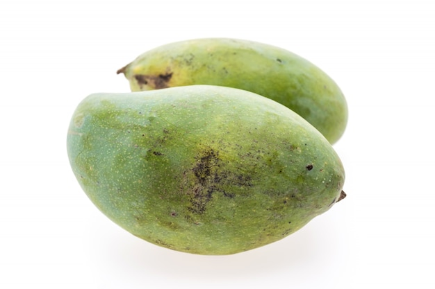 Gele biologische mango's mango leven