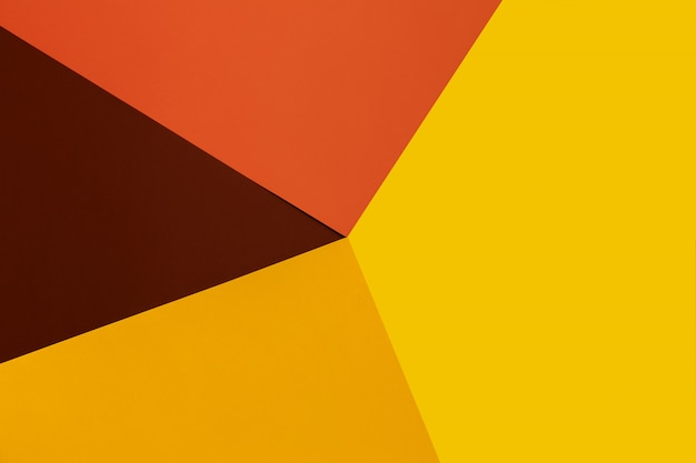 Gele, bruine en oranje achtergrond