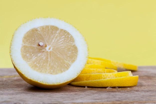 Gele citroen