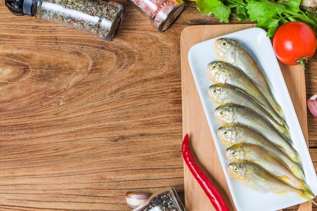 Gele croaker fish