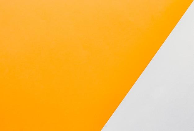 Gele en witte platte achtergrond