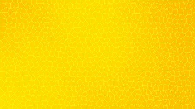 Gele mozaïek abstracte textuur achtergrond, patroon achtergrond van gradiënt behang