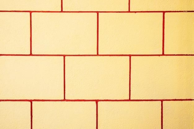 Gele muurachtergrond en textuur