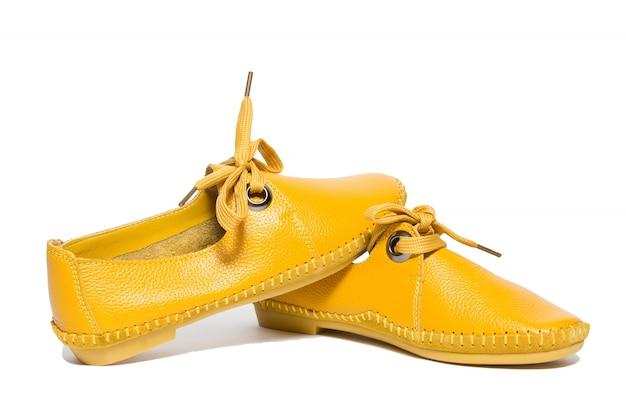 Gele schoffels