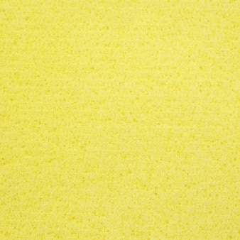 Gele spons rubber textuur voor achtergrond