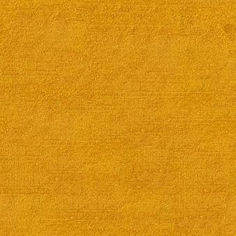 Gele stof naadloze textuur achtergrondpatroon