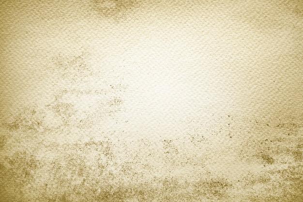 Gele verf op papier