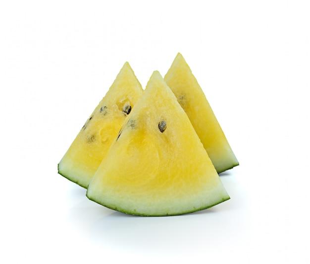 Gele watermeloen