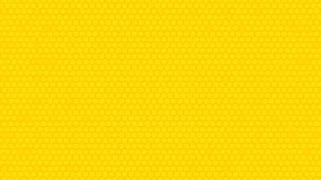 Gele zeshoek textuur achtergrond.