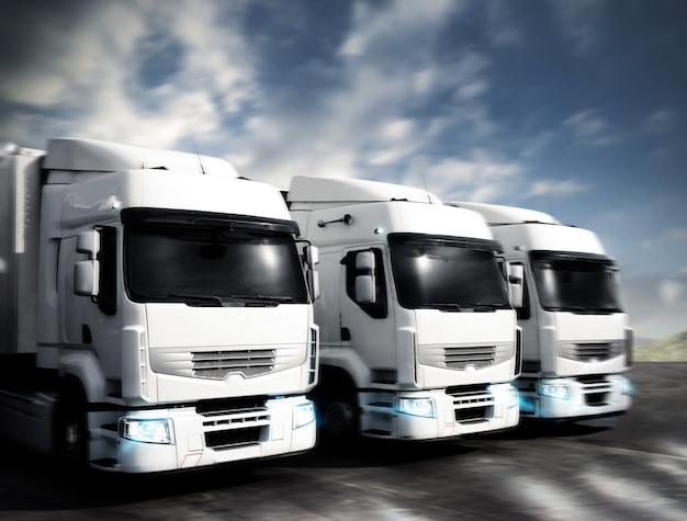 Gelede vrachtwagens