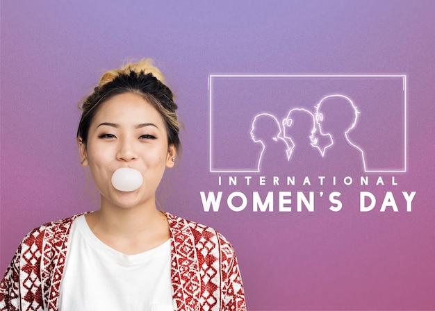 Gelijkheid van vrouwen genderrechten bevrijding