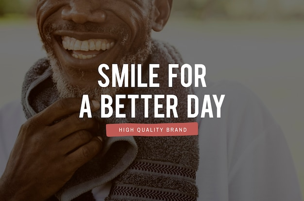 Geluk heerlijk smile positiviteit grafisch woord