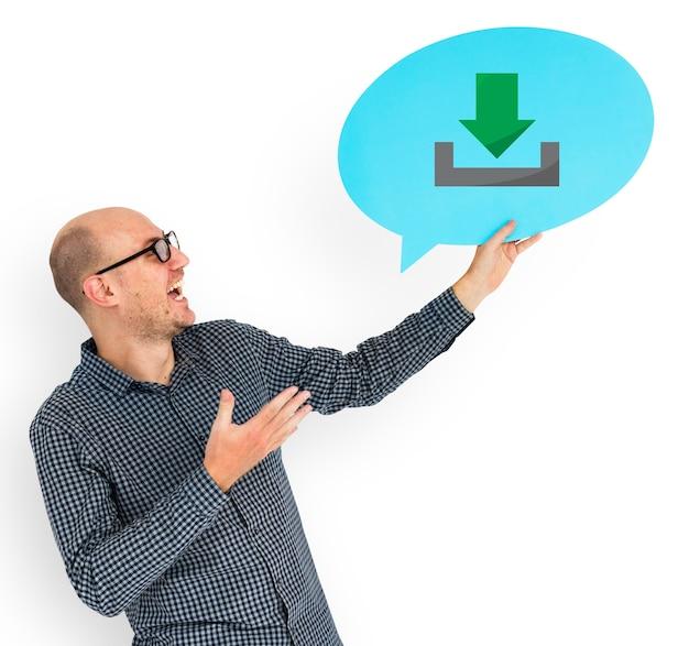 Gelukkig man download symbool