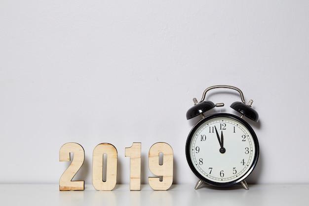 Gelukkig nieuwjaar 2019-concept