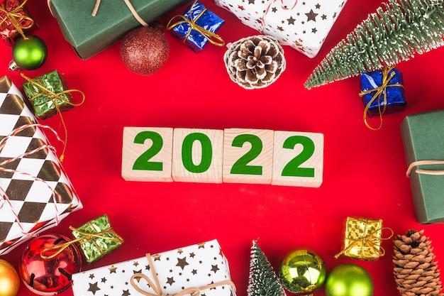 Gelukkig nieuwjaar 2022 kerst 2022