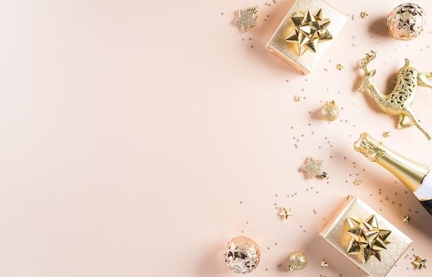 Gelukkig nieuwjaar viering concept