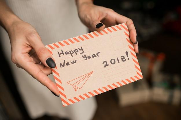 Gelukkig nieuwjaarskaart