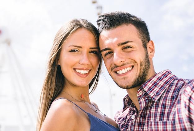 Gelukkig paarportret